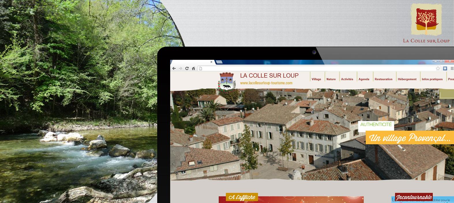 Site Office de Tourisme de la Colle-sur-Loup