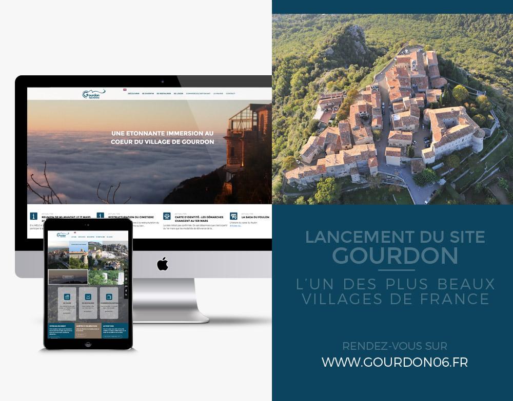 Nouveau site pour Gourdon